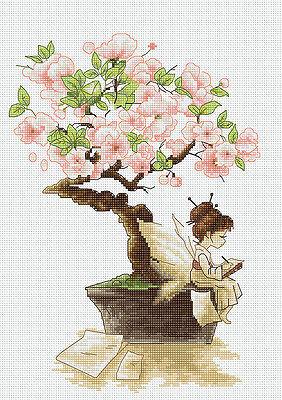 The Sakura Cross Stitch Kit
