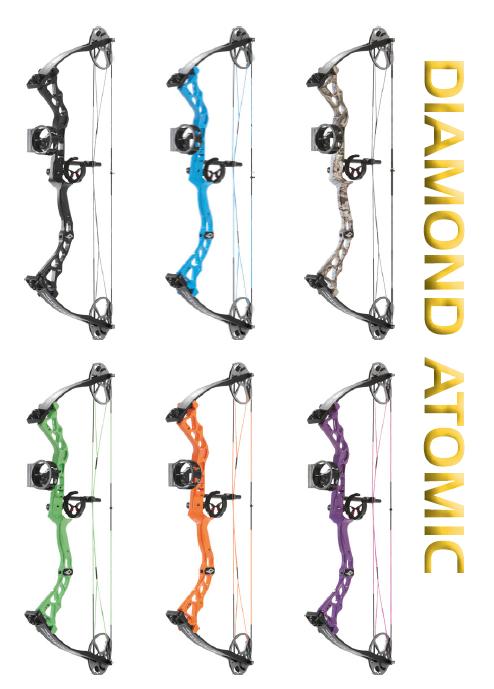 NEW 2019 Diamond Archery Atomic Youth Compound Bow RH CHOOSE