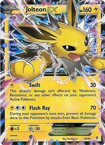 Looking for Jolteon Ex #28/83 Pokemon Generations card London Ontario image 1