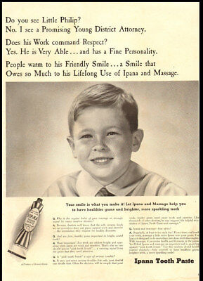 ad for Ipana Toothpaste-134