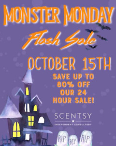 Scentsy - up to 80% off!