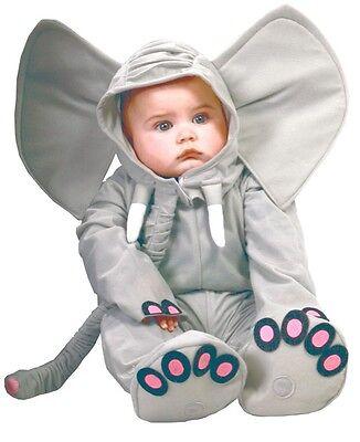 Baby Mädchen Jungen Grau Elefant Zoo Tier Halloween Kostüm Kleid - Baby Mädchen Elefanten Kostüm