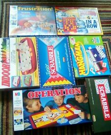 Board games joblot