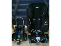 Klippan car seat with base age 18monts till 36m.in used condition!Can deliver or post!