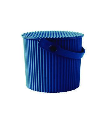 Eimer mit Deckel 4 Liter navyblau Hachiman