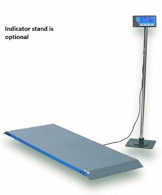 Brecknell Ps1000 Floor Scales Vet Scale 1000 X 0.5 Lb 55.75 L X 20.25 W