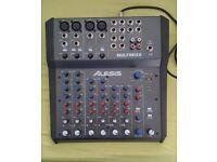 Alesis mutimix8 usb fx 8 channel mixer