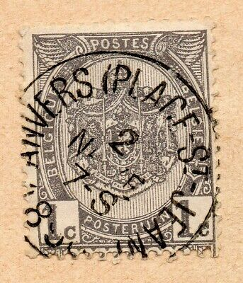 Belgium 1884-91 Early Issue Fine Used 1c. NW-07909 for sale  Shipping to United Kingdom