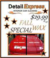 FALL WAX SPECIAL