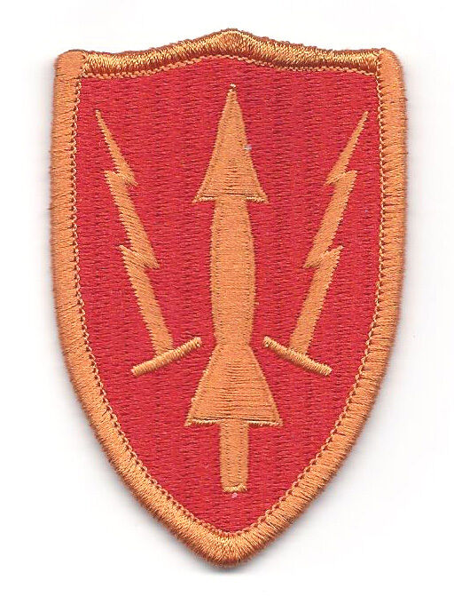 Army Air Defense Command ARADCOM - Shoulder Sleeve Insignia Class A  Free - Ship