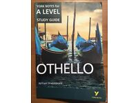 Othello A LEVEL revision guide-York Notes