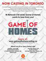 OPEN CASTING CALL - W NETWORK - YOU COULD WIN A HOME!
