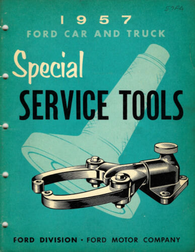 53 54 55 56 57 Ford Lincoln Mercury Truck Specialty Tools Catalog FoMoCo 7382-57