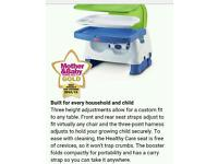 Fisher price healthy car booster seat