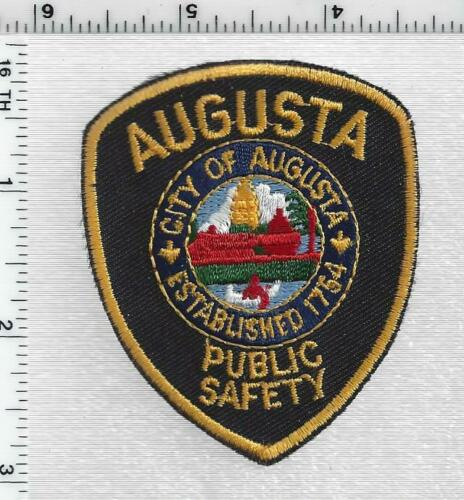 Augusta Public Safety (Maine) 1st Issue Cap/Hat Patch