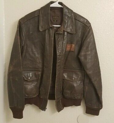 WW2 Army Air Corp Flight Instructors Leather Jacket A-2 Named