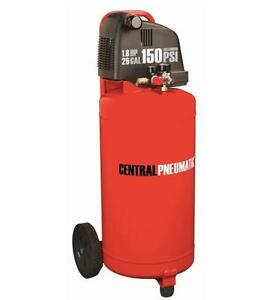 HOC - 99 LITER 26 GALLON 1.8 HP 150 PSI OILLESS AIR COMPRESSOR + 1 YEAR WARRANTY + FREE SHIPPING