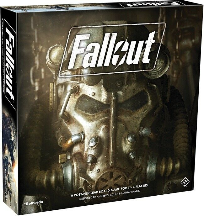 Fantasy Flight Games: Fallout - A Post-Nuclear Board Game fo