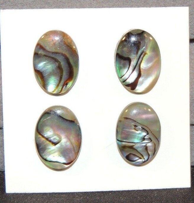 Abalone Cabochon 10x14mm Set of 4 (7684)