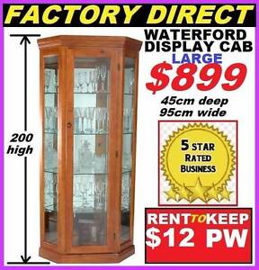 Brand New Display Cabinet Timber $899 or Rent To Keep $12 P/W Ipswich Region Preview