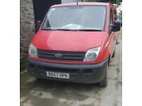 LDV Maxus crew cab 2.5 6 seater transit swb size minibus splitter van 2008 94k new mot must sell