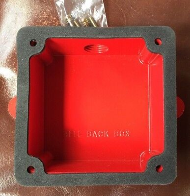 Bell Back Box Fire Alarm 4-38x4-38