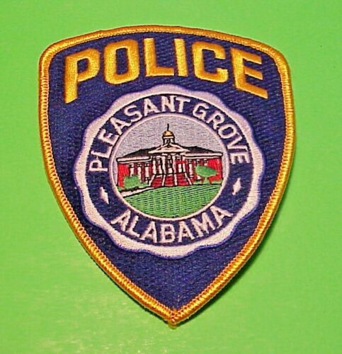 "PLEASANT GROVE ALABAMA  AL  5""  POLICE PATCH  FREE SHIPPING!!!"