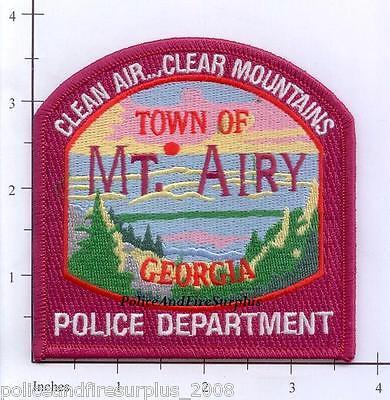 Georgia - Mount Airy GA Police Dept Patch