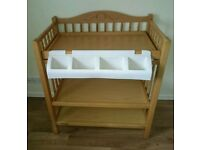M&P wooden changing table for sale