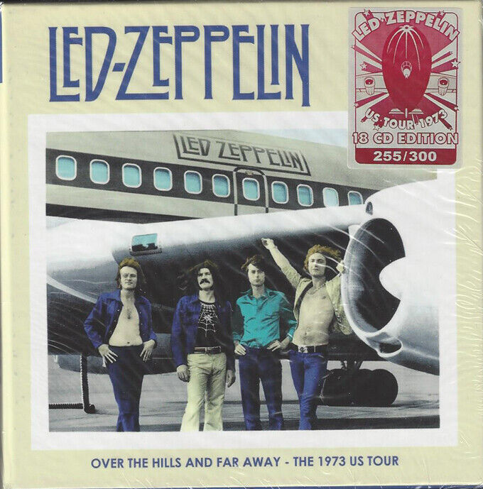 LED ZEPPELIN OVER THE HILLS AND FAR AWAY THE US TOUR 1973  - $200.00