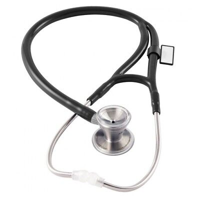 Mdf Instruments Classic Cardiology Dual Head Stethoscope Black Noirnoir