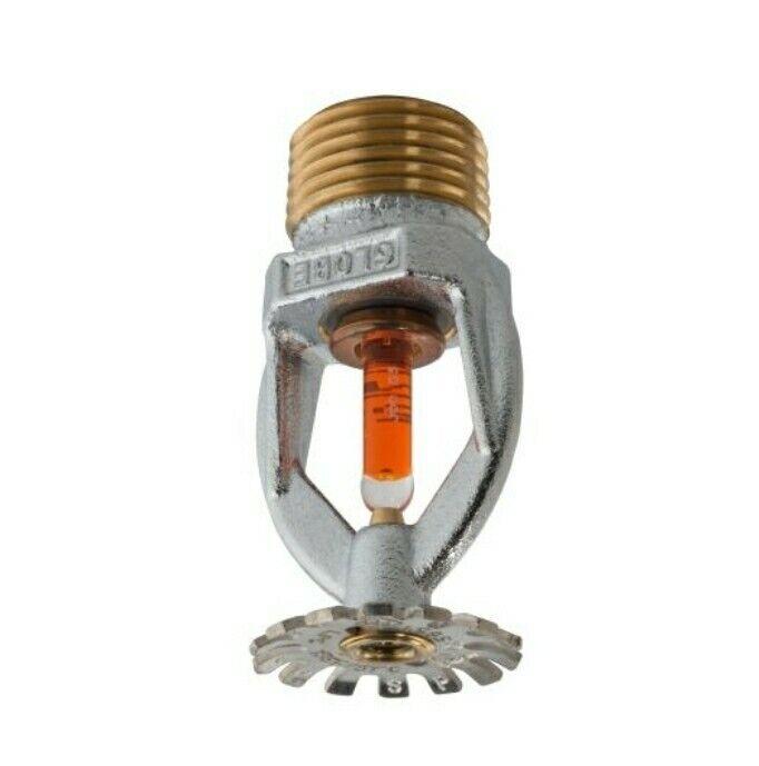 """5 Pcs Globe GL5651 155°F Chrome Pendent Fire Sprinkler 1/2"""" Standard Response"""