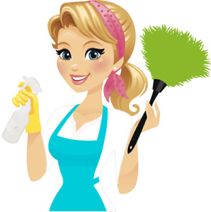 Europian Cleaning Lady is Available
