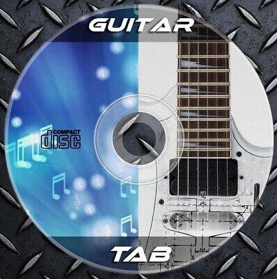 49.000 Guitar & Bass TAB Lead,Rhythm - Blues,Jazz,Rock,Heavy,Folk. Collection