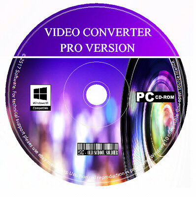 Pro Video Authoring Converter - Video Editor - DVD & Movie Maker Creator PC CD