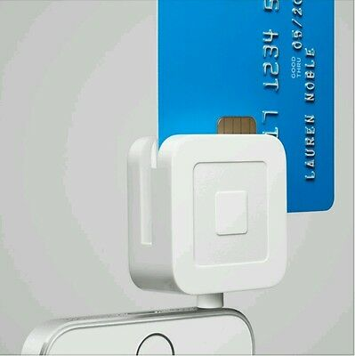 Square   Credit Card Reader For Magnetic Strip   Chip Credit Cards   New Sealed