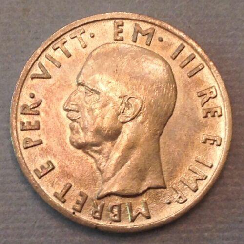 ~ 1939  Albania 5 Lek King Victor Emmanuel  III