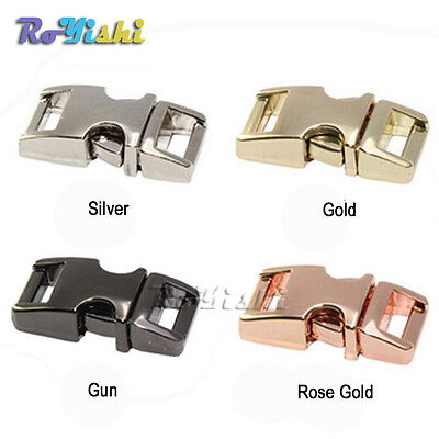 Metal Side Release Buckles - 3/8