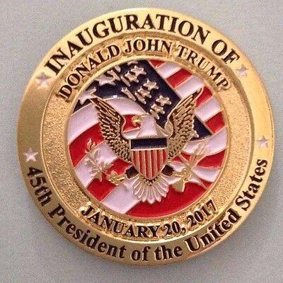 Donald Trump 45th Presidential Inauguration Lapel Pin 2017