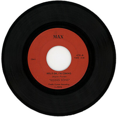 "RISING SONS  ""HOLD ON, I'M COMING c/w HAVE SOME PATIENCE GIRL""  NORTHERN SOUL"