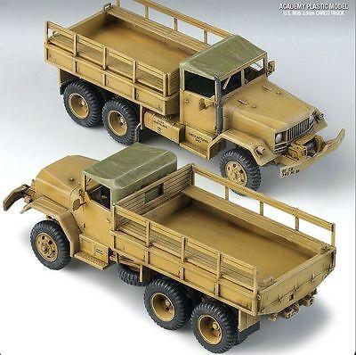 Academy 1/72 Plastic Model Kit U.S. M35 2.5ton CARGO TRUCK C13410 13410