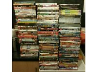160 top dvds 20 without cases but all original VGC please read