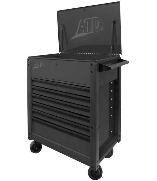 ATD-70401A 7-Drawer Flip-Top Tool Cart