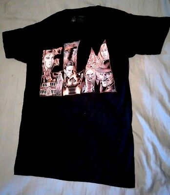 New Women's Black Nightmare on Elm Street Shirt Freddy Krueger Horror Small - Freddy Krueger Top
