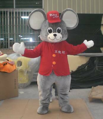 Halloween Mouse Mascot Costume Suit Dress Adult Cosplay Party Theme Mascotte US - Anime Themed Halloween Costumes