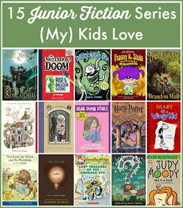 15 Junior Fiction Series (My) Kids Love