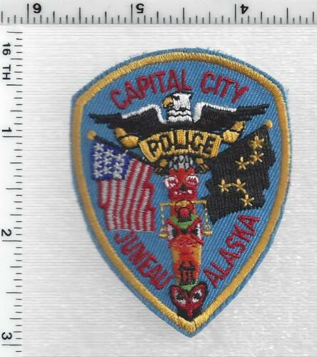 Juneau Police (Alaska) 2nd Issue Cap/Hat Patch
