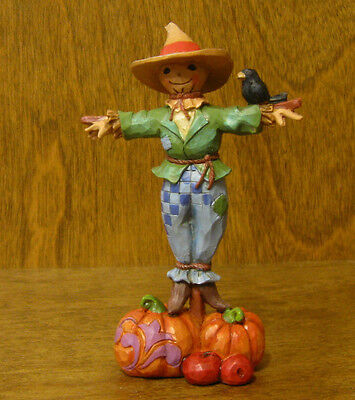 Jim Shore Heartwood Creek #4041466 SCARECROW, New From Retail Store HALLOWEEN