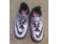 Nike mercurial trainers child UK size 1