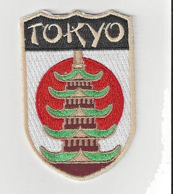 Tokyo Japan Souvenir Patch